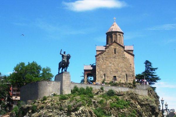 Метехи достопримечательности Тбилиси фото