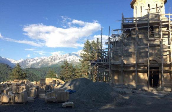 Новые храмы в Сванетии