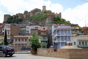 Серные бани, крепость Нарикала, Тбилиси