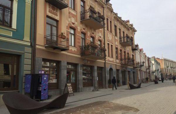 Пешеходная улица в Тбилиси