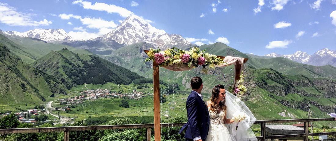 свадьба в Грузии и путешествие