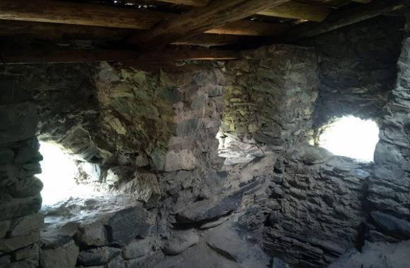 Под крышей сванской башни
