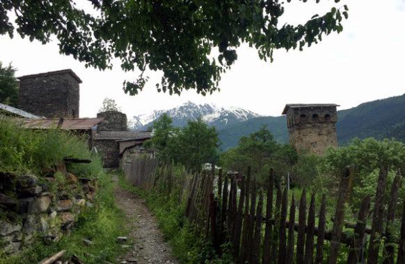 Сванские башни в Сванетии