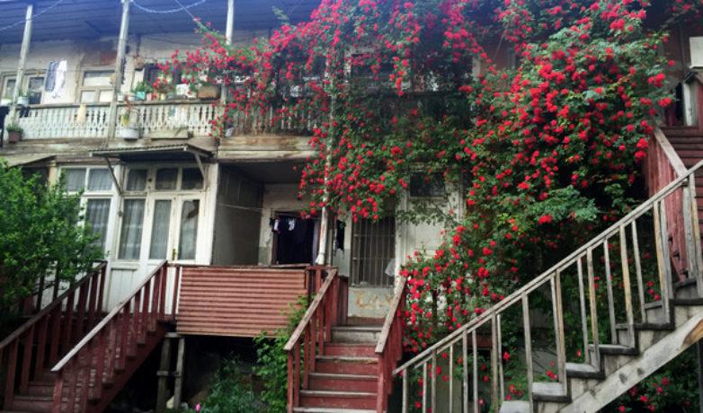 Старые тбилисские дворы