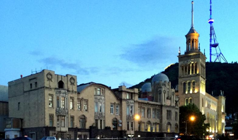 Тбилиси на закате