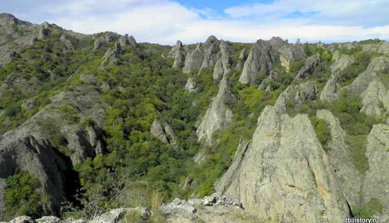 Биртвисские каньоны. Фото окрестностей