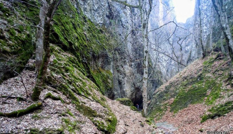 Биртвисские каньоны зимой
