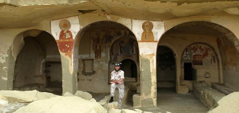 Андрей — проводник в Давид-Гареджа