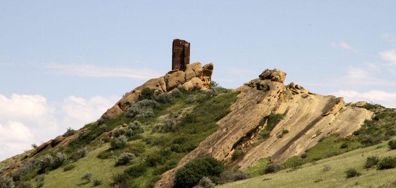 Гареджийский кряж фотографии летом
