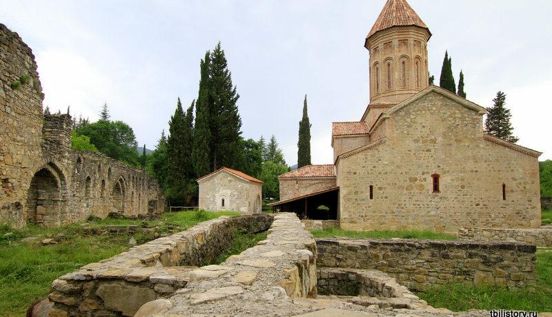 Икальто − монастырь в Кахетии
