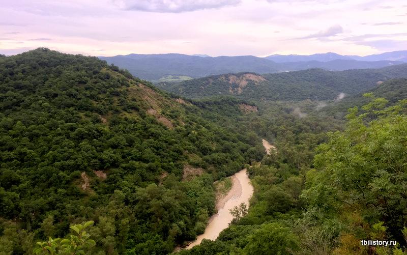 Уджарма, Кахетия, Гомборский перевал
