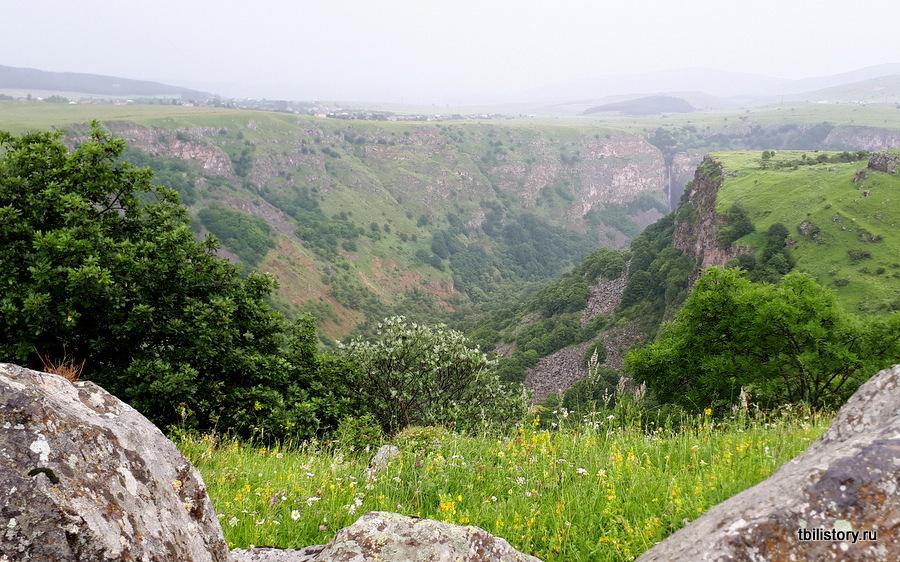 Дашбашские каньоны - каньоны Грузии