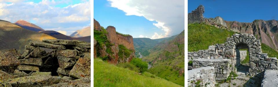 редкие крепости Грузии
