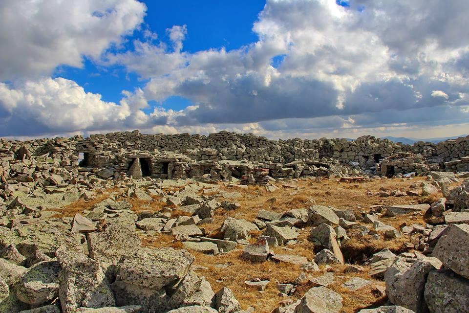 Шаори крепость мегалиты в Грузии