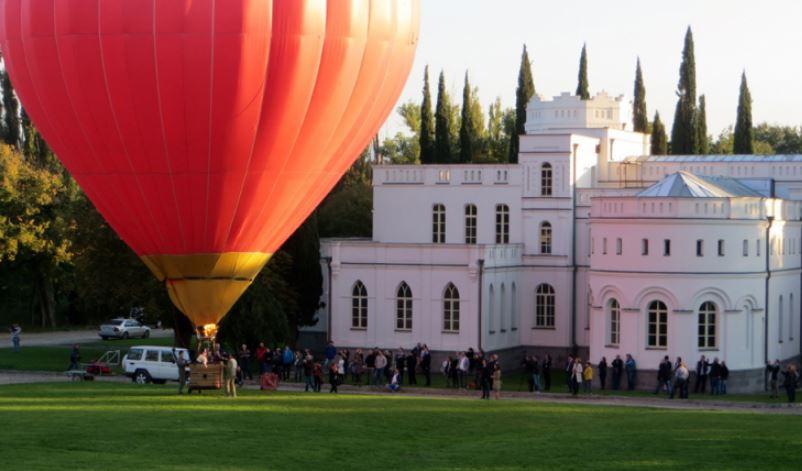 полет на воздушном шаре где в Грузии