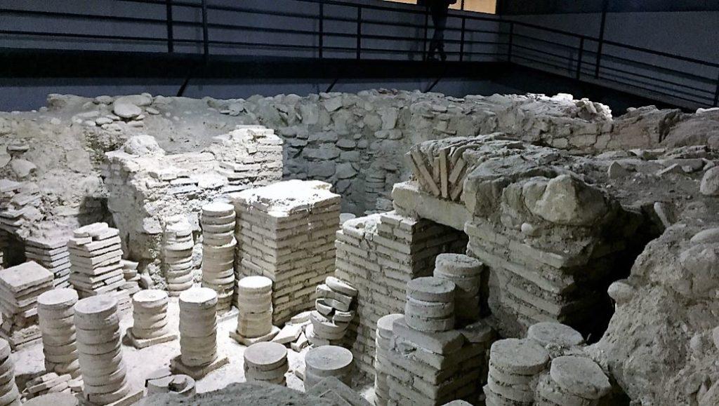Археология в Грузии Дзалиси римские греческие мозаики