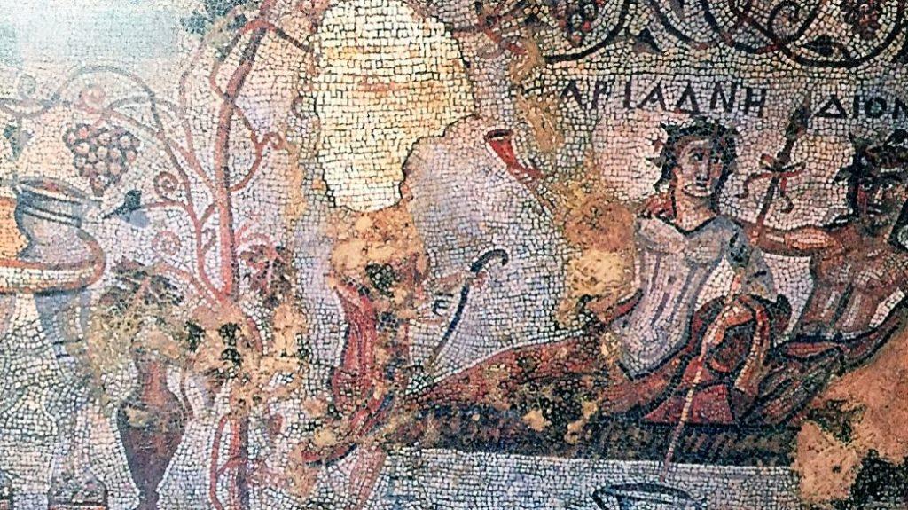 мозаики в Дзалиси греческие