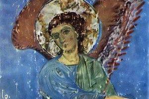 Ангел в голубом кинцвисский ангел