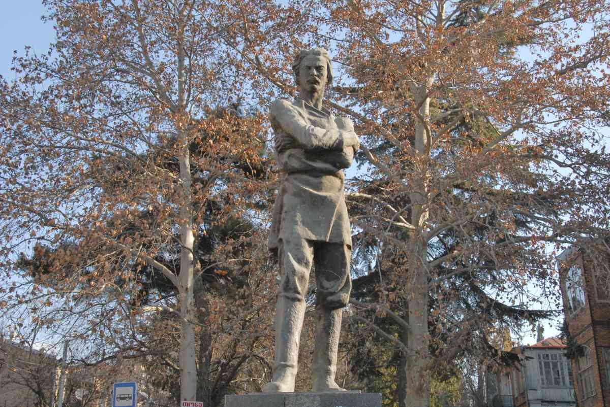 Горький в Тбилиси