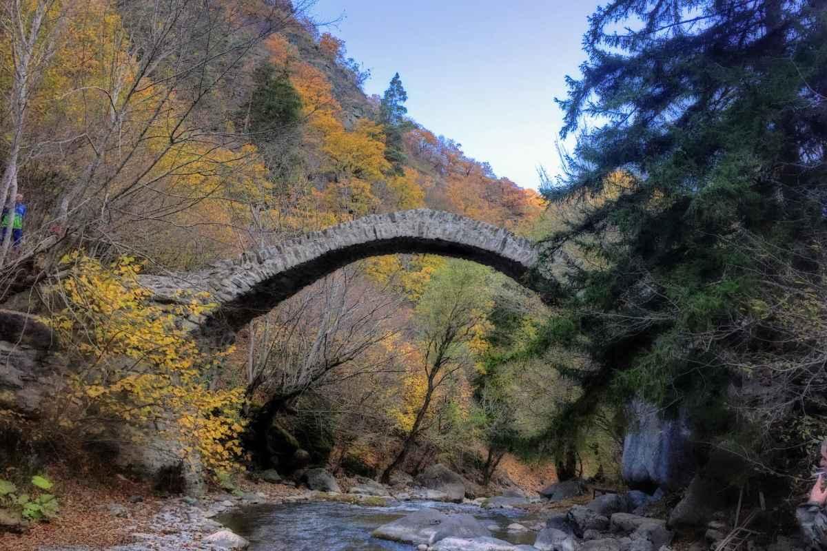 Арочный мост в Ркони