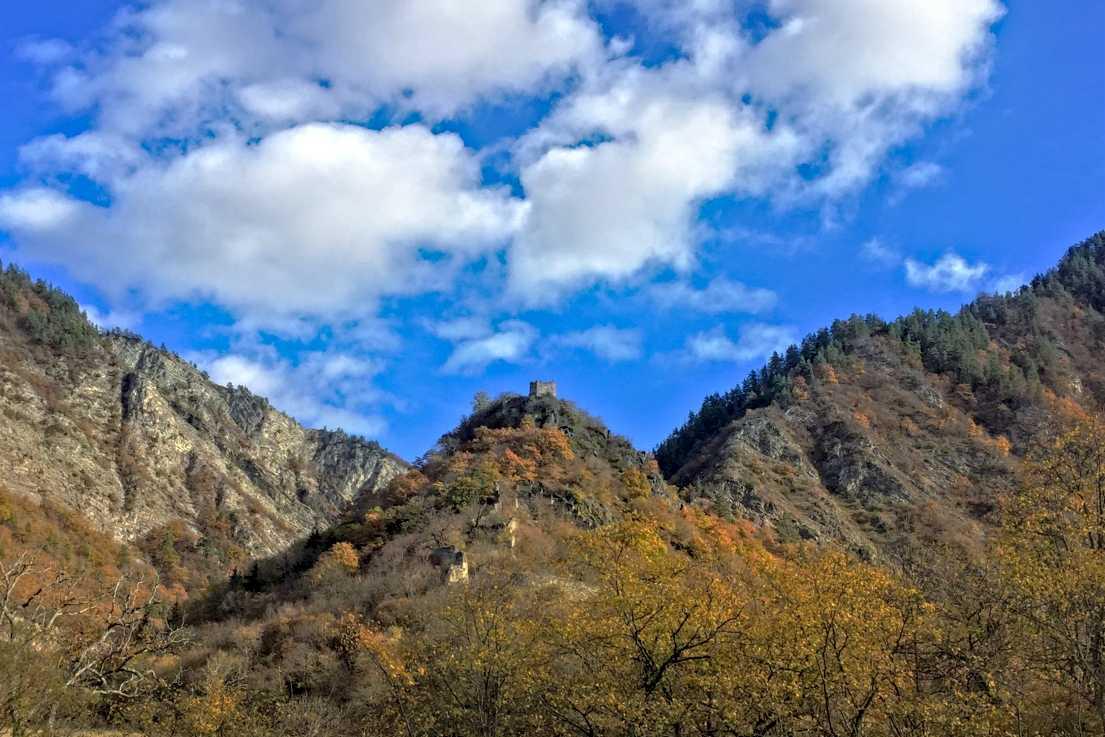 Крепость Ркони и монастырь Ркони как попасть