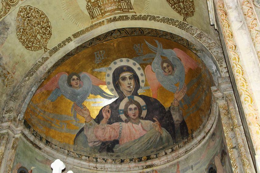Нестеров работы в Грузии фрески
