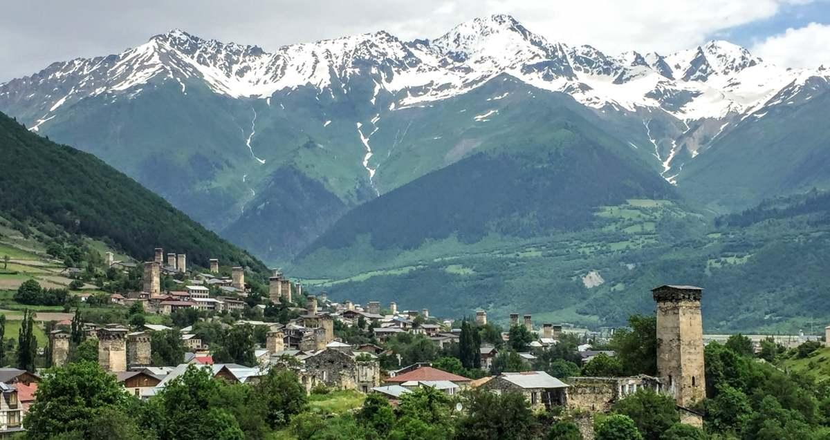 Экскурсия в Сванетию из Тбилиси
